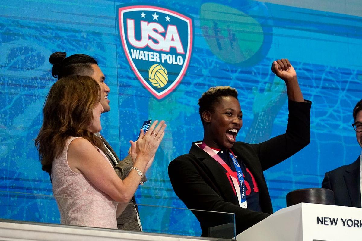 USA women's Waterpolo team