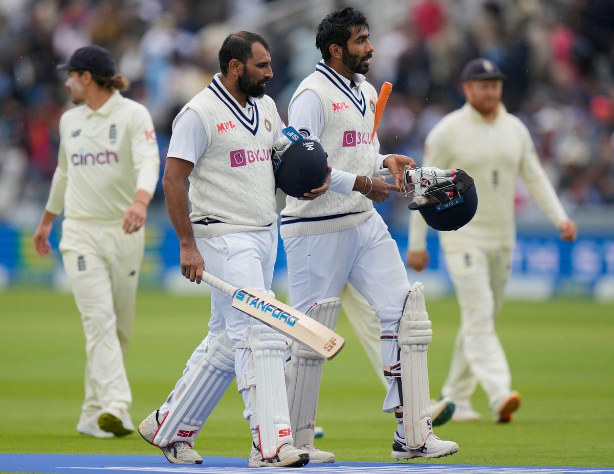 It's not Laxman & Dravid walking!