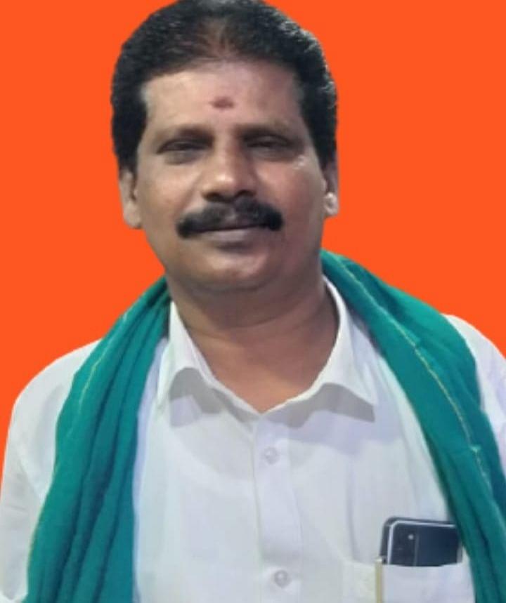 பெரியாறு- வைகை விவசாய சங்கத் தலைவர் எம்.பி.இராமன்
