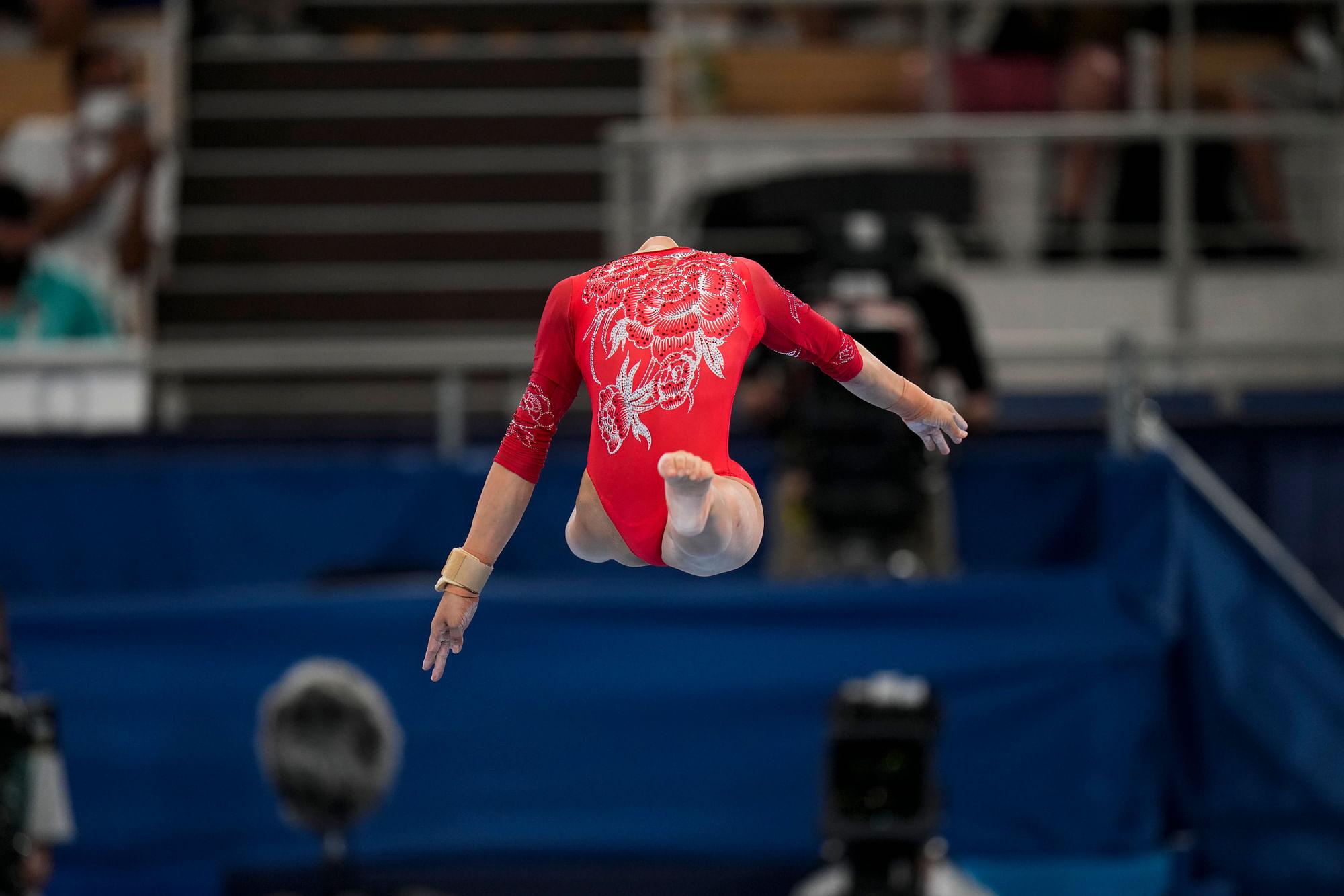 China dominates in Gymnastics