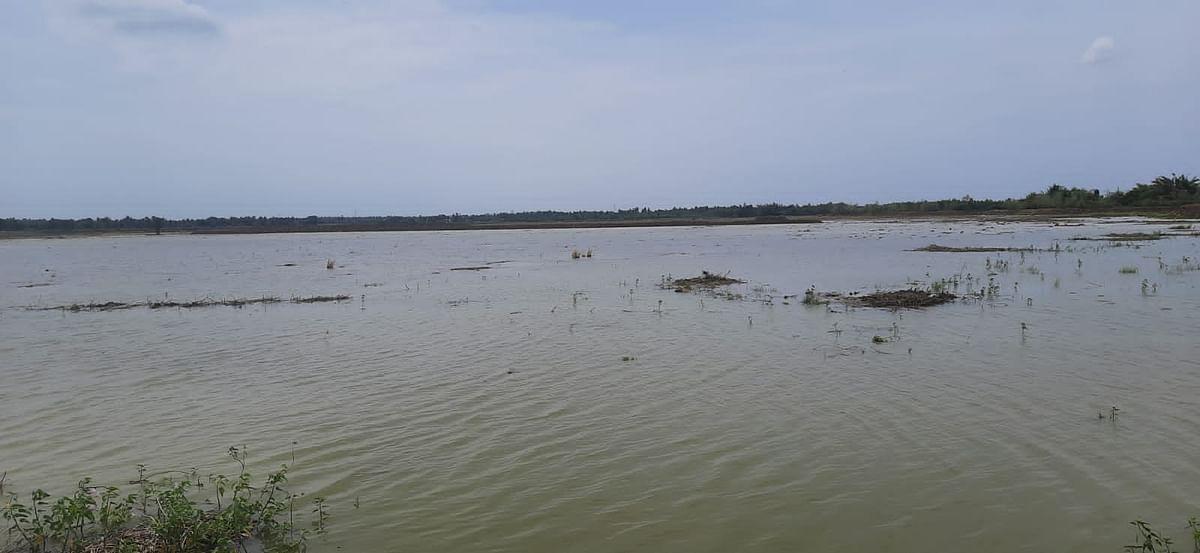 நீர் நிறைந்த ஏரி