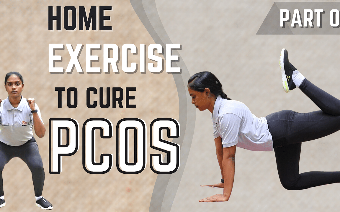 Best Exercise To Cure PCOS | Easy Home Workouts For Weight Loss | PCOD | Say Swag