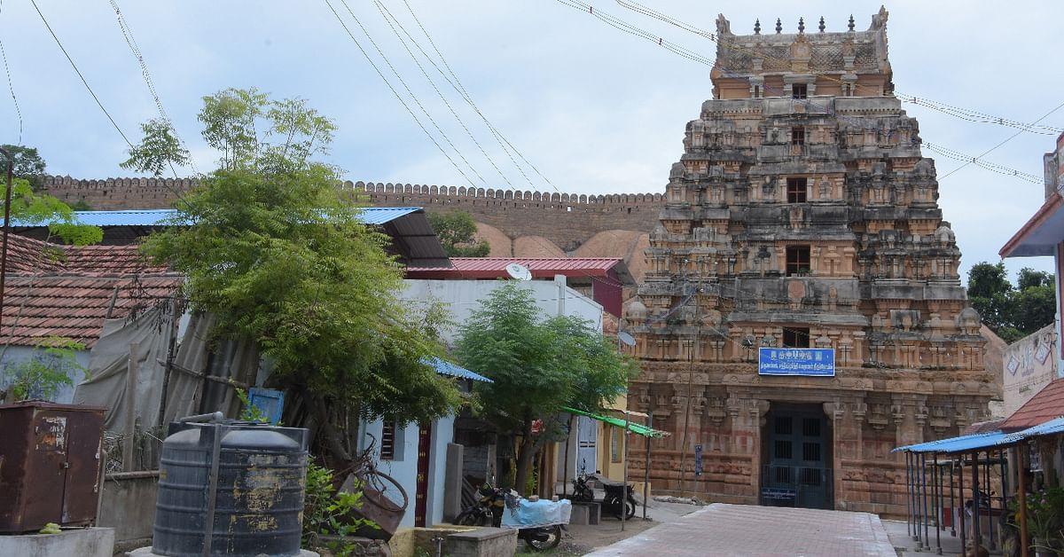 திருமயம் கோட்டை கோயில்