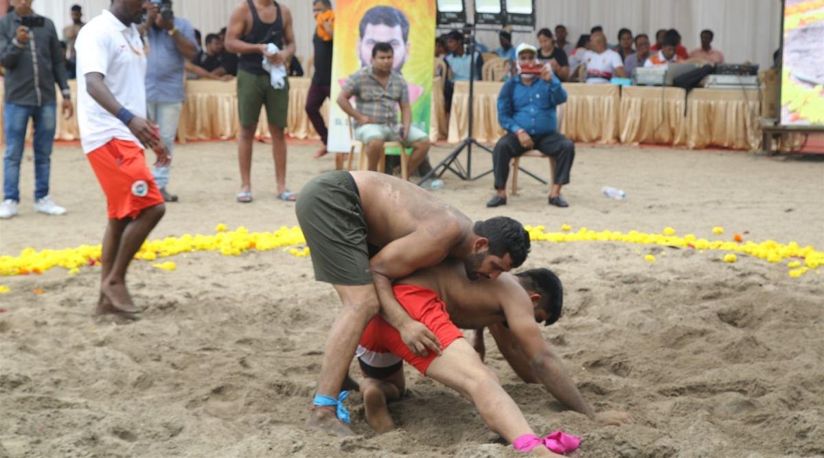 National Beach Wrestling | தேசிய பீச் மல்யுத்த தொடர்