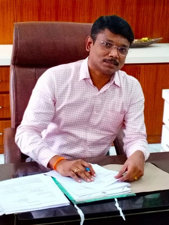 திருவண்ணாமலை மாவட்ட ஆட்சியர் முருகேஷ்