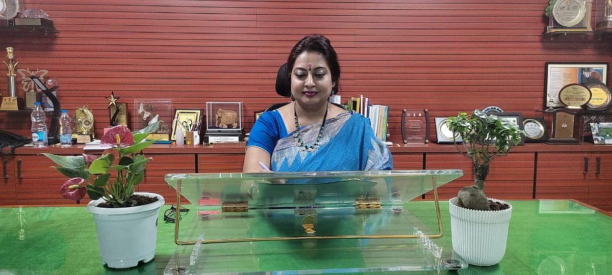 இந்திய உயிரியல் ஆய்வு  நிறுவனத்தின் முதல் பெண் தலைவர் த்ரிதி பானர்ஜி