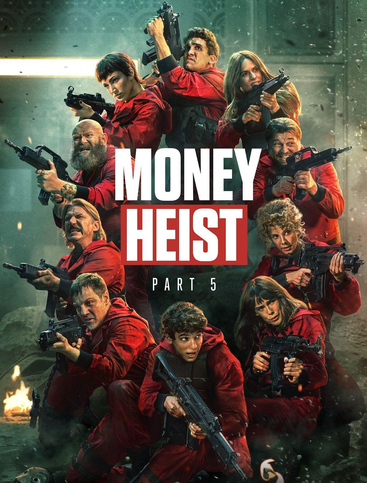 Money Heist Part 5 Vol 1