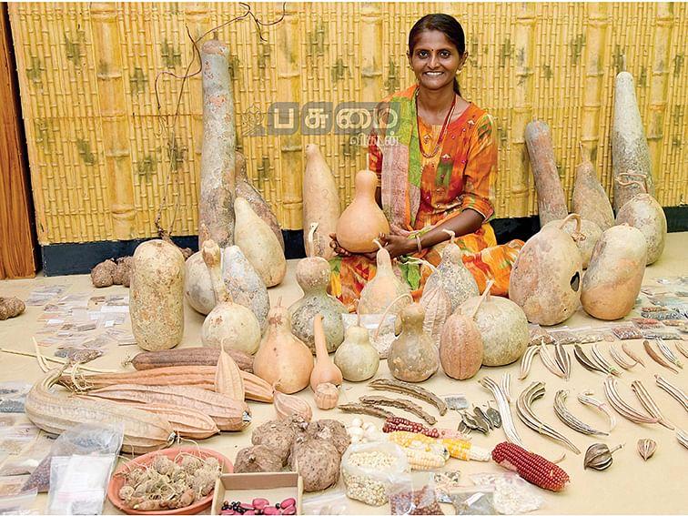 பாரம்பர்ய விதைகளுடன் பிரியா நாராயணன்