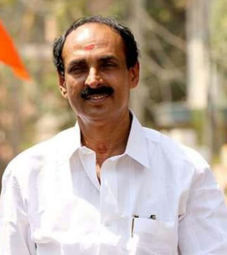 சிவசேனா கேரள மாநிலத் தலைவர் புவன சந்திரன்