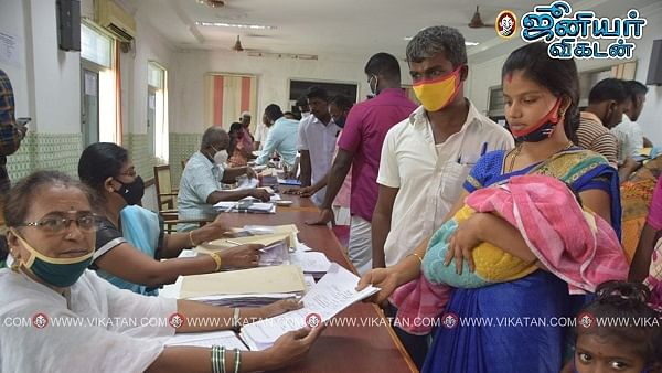 உள்ளாட்சித் தேர்தல் வேட்புமனு தாக்கல் செய்த சுஜித்ரா