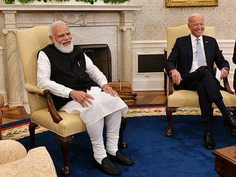 `இந்தியாவில் 5 பைடன்கள் இருக்கிறார்களாமே' , `இந்த கோப்புகள் உதவலாம்' - மோடி, பைடன் சந்திப்பில் கலகல