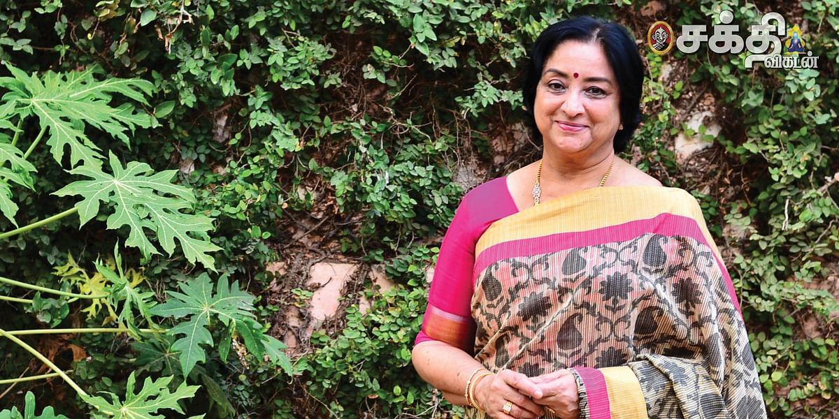 நடிகை லக்ஷ்மி சிவச்சந்திரன்