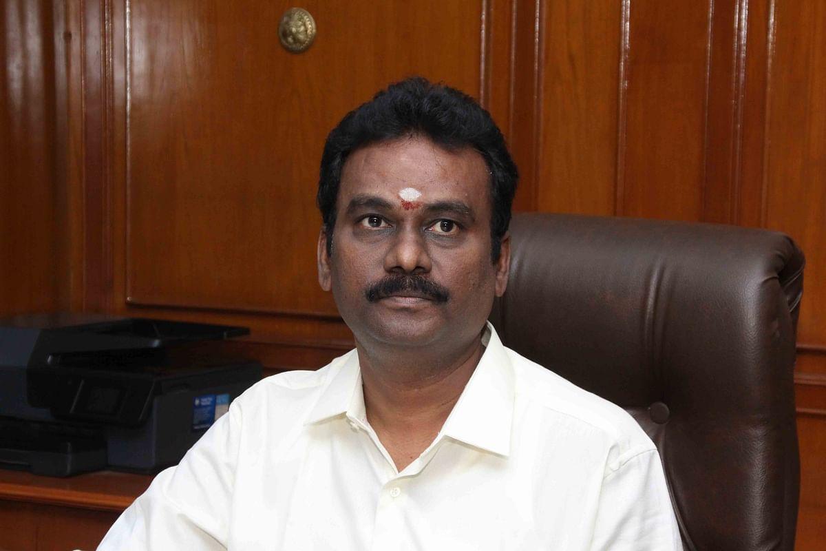 திண்டுக்கல் மாவட்ட ஆட்சியர் எஸ்.விசாகன்