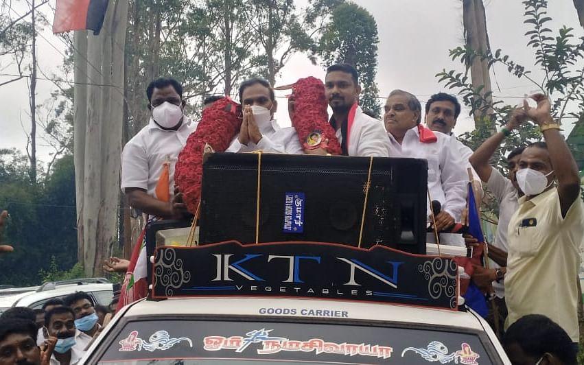 5 மாதங்களுக்குப் பிறகு தொகுதிக்கு வந்த ஆ.ராசா; விமர்சித்த அதிமுக-வினர்