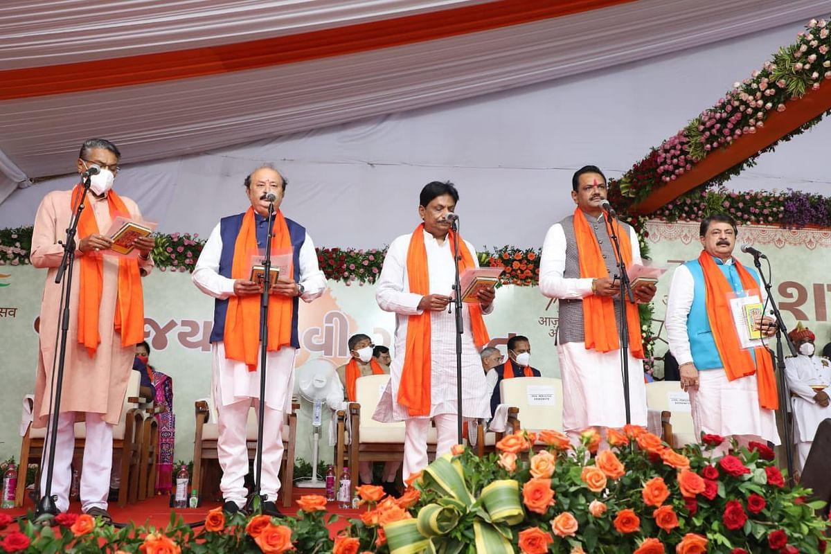 குஜராத் அமைச்சர்கள்