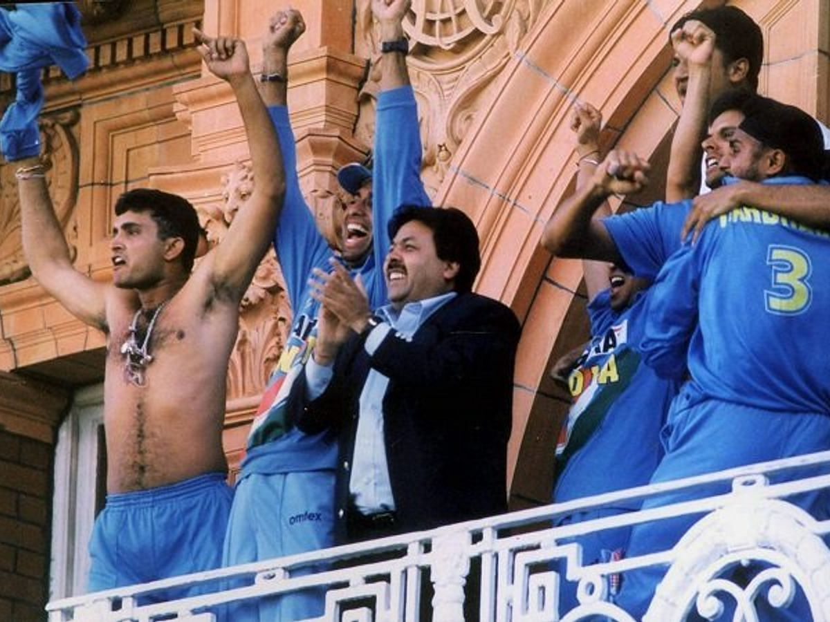 Sourav Ganguly at the Lord's