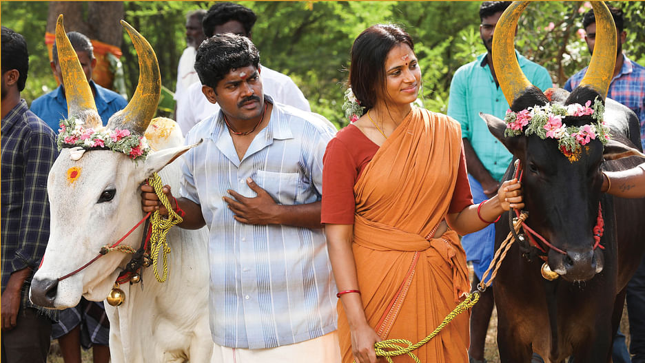 Ananda Vikatan - 15 September 2021 - பவுடர் பூசாத கிராமத்தின் கதை! |  director arisil murthy interview about Raman Aandalum Ravanan Aandalum movie