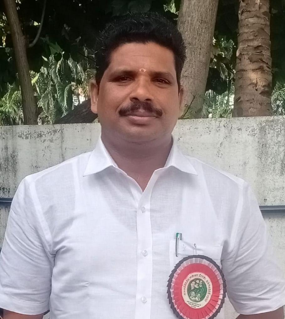 ராஜாக்கமங்கலம் ஊராட்சி ஒன்றியத் தலைவர் அய்யப்பன்