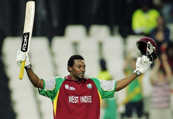 Gayle scored a 100 in the very first match of T20 World Cup