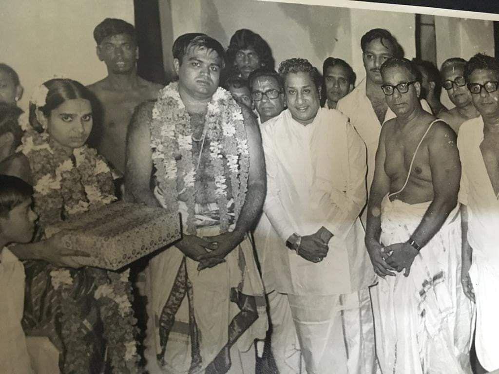 முக்தா அக்கா திருமணத்தில்
