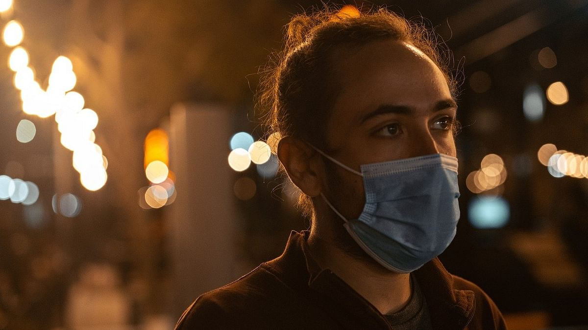 A man with mask (representational image)