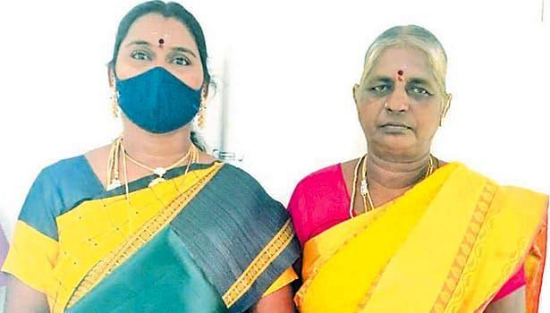 மாமியார் ஜெயலட்சுமி - மருமகள் சாவித்திரி