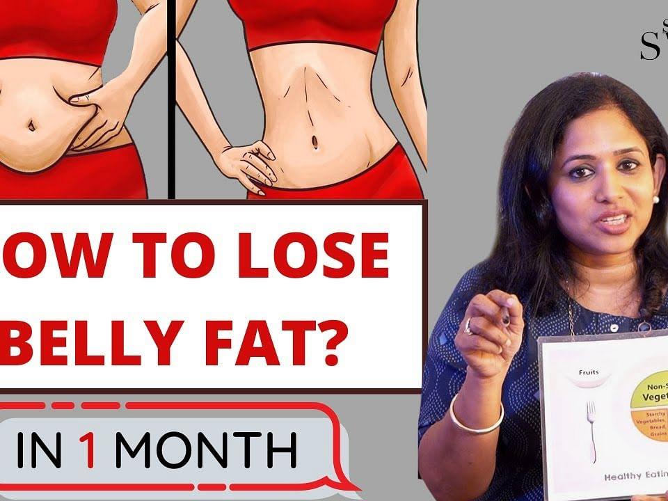 தொப்பை மற்றும் இடுப்பை சுற்றியுள்ள கொழுப்பை குறைப்பது எப்படி? Weight Loss & Fat Reduction   Say Swag