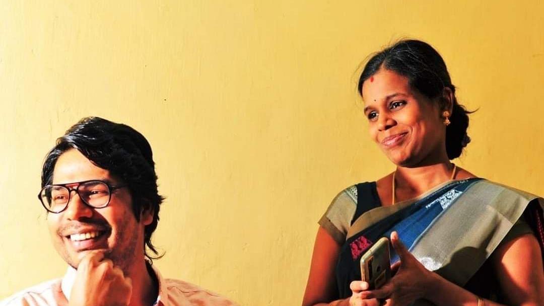 கார்த்திக் நேத்தா மற்றும் கீதா கார்த்திக் நேத்தா