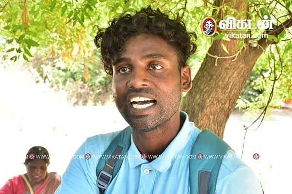 பெற்றோரைப் பிரிந்த ஏக்கத்தில் விஜய் அஜய்குமார்