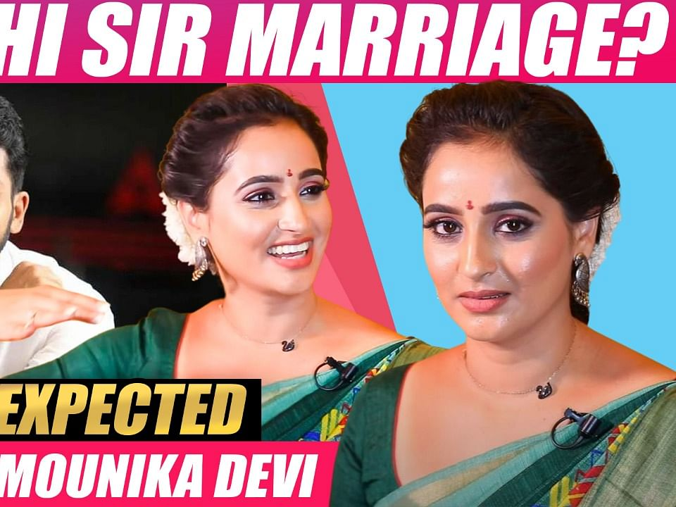 `Karthi சார் கூட கல்யாணம்; Fall in Love!'- Actress Mounika Devi Dream Rumor   Idhayathai Thirudathey