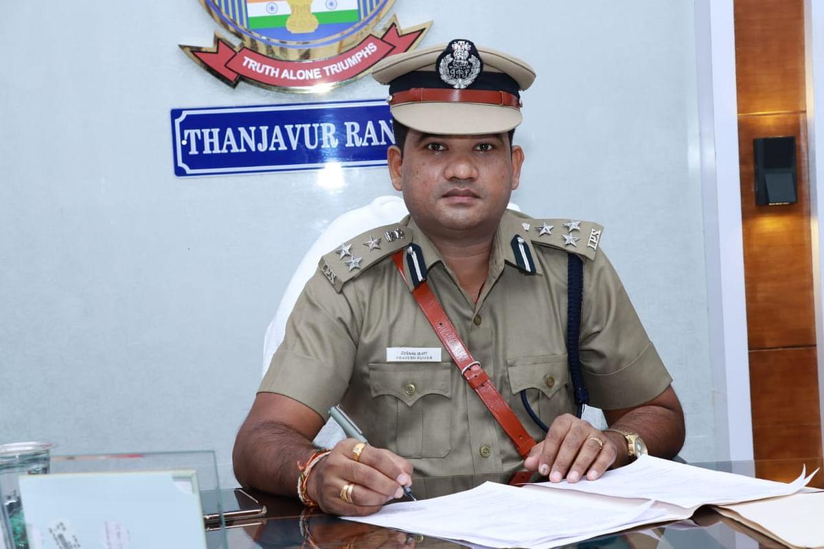 தஞ்சாவூர் சரக டி.ஐ.ஜி பிரவேஷ்குமார்