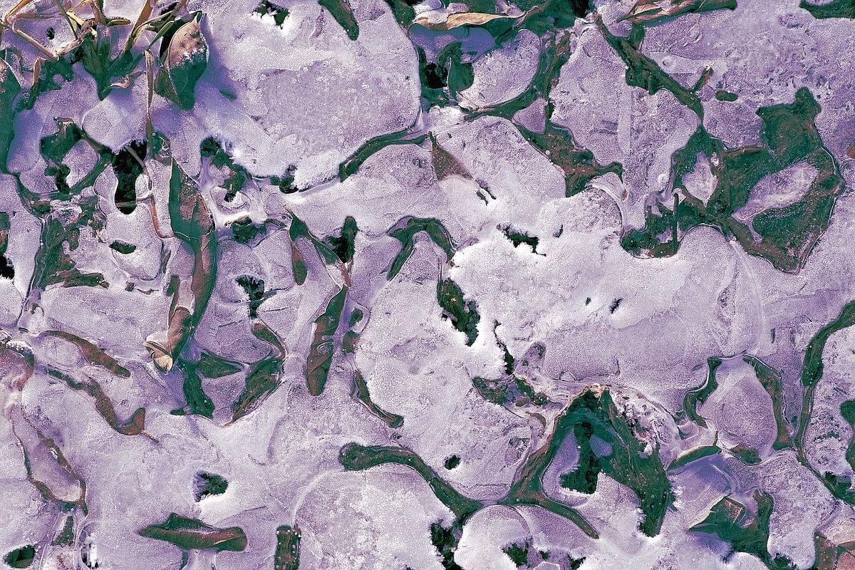 உடையும் permafrost
