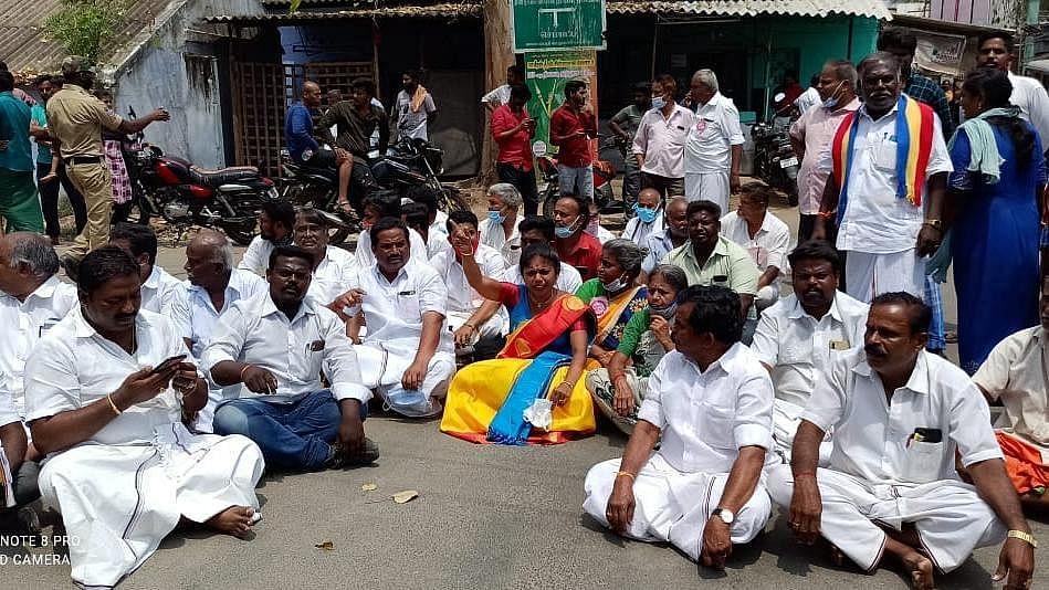 திலகபாமா போராட்டம்