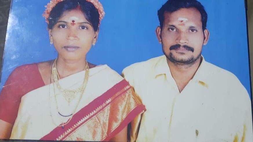 கொலைசெய்யப்பட்ட செல்வம், அவரின் மனைவி விஜயலட்சுமி
