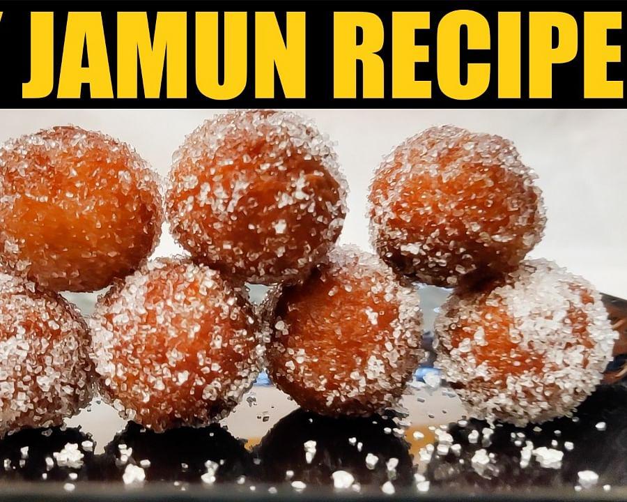 Dry Jamun Recipe in Tamil