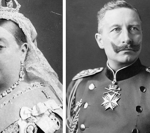 Queen Victoria, Kaiser Wilhelm II