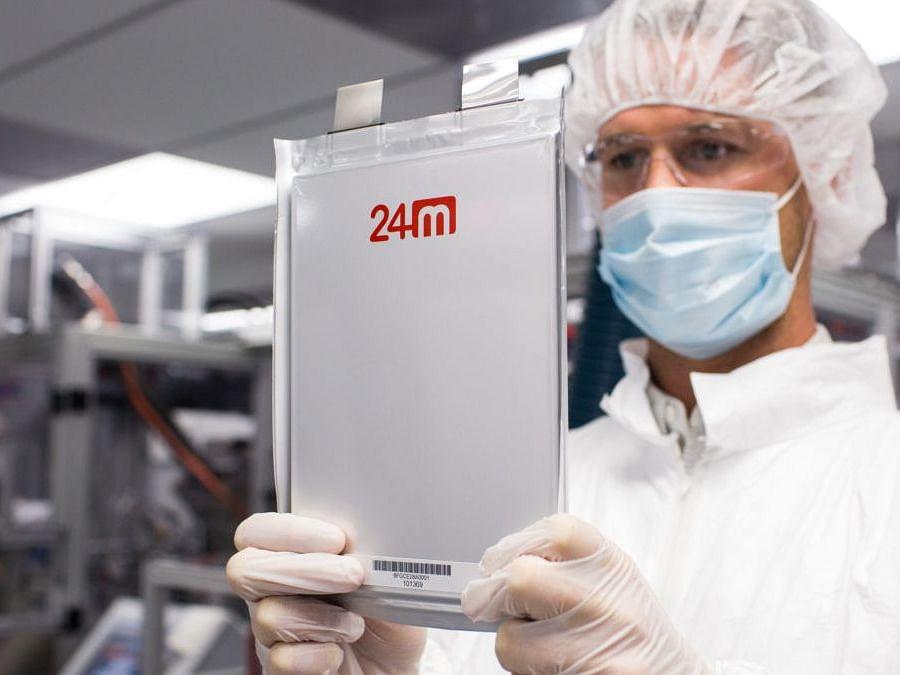 SemiSolid lithium-ion cells