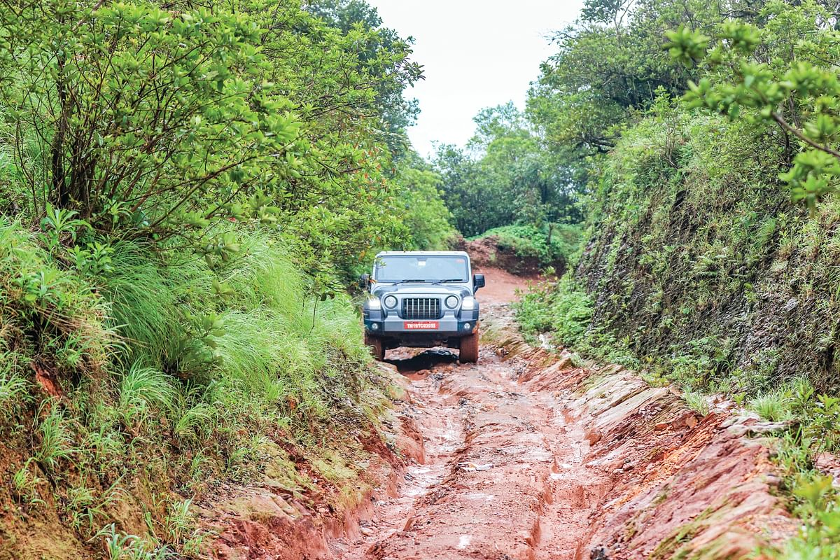 Into the Ghats