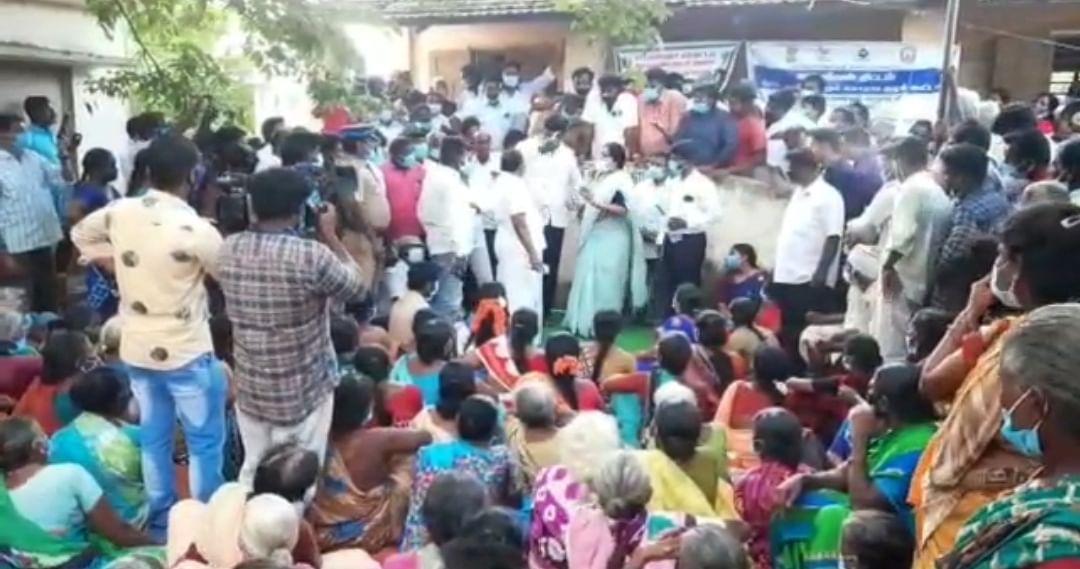 கிராமசபை கூட்டத்தில் கைகலப்பு