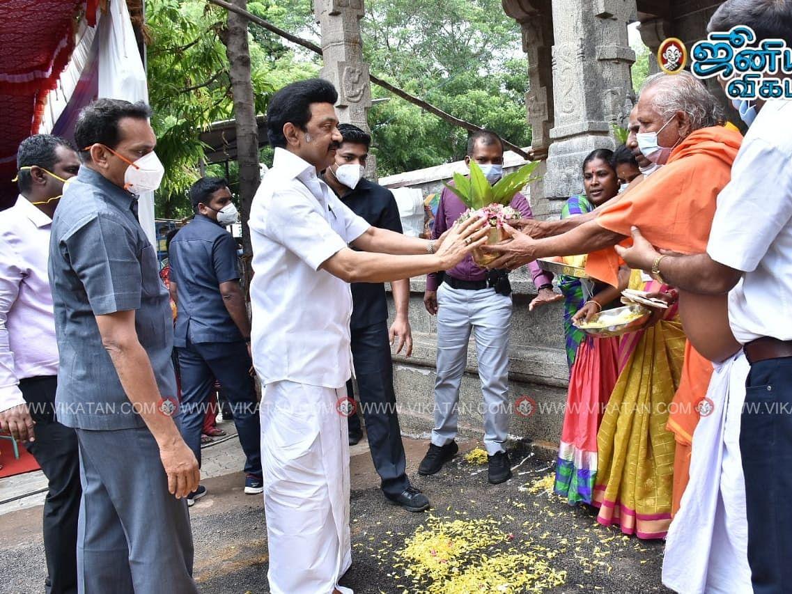 பாப்பாபட்டி:`2006-ல் இங்கு தேர்தல் நடந்ததை அறிந்த கலைஞர் மகிழ்ந்தார்!'-நினைவுகளைப் பகிர்ந்த ஸ்டாலின்