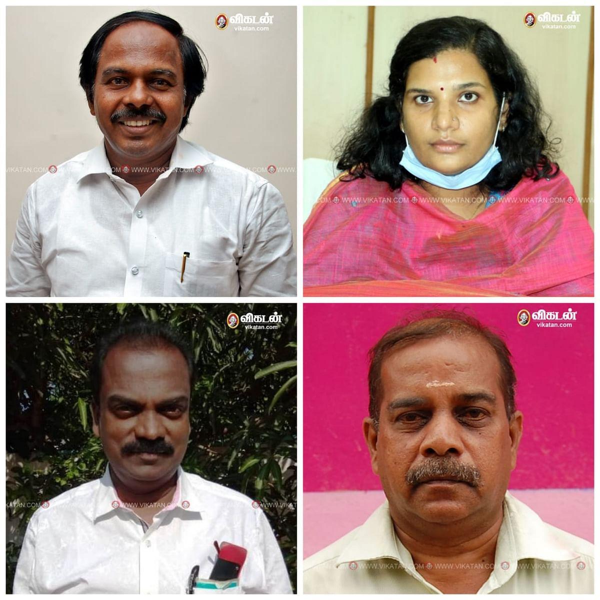 அமைச்சர் மனோ தங்கராஜ், ஆணையாளர் ஆஷா அஜித், டேவிட்சன், ஸ்ரீராம்