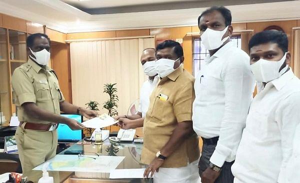 உள்ளாட்சித் தேர்தல் வாக்கு எண்ணிக்கை குறித்து புகார் மனு