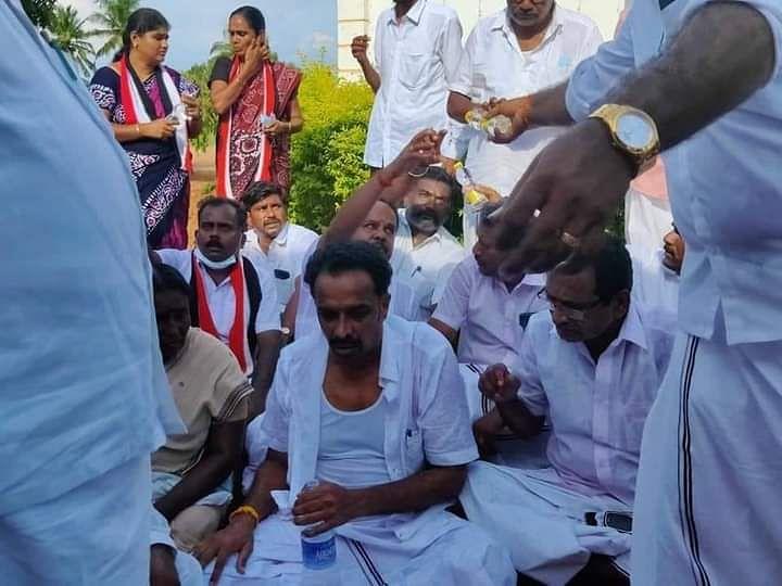 தேர்தல் ரத்தான விவகாரம்: முன்னாள் அமைச்சர் எம்.ஆர்.விஜயபாஸ்கர் மீது 6 பிரிவுகளில் வழக்கு பதிவு!