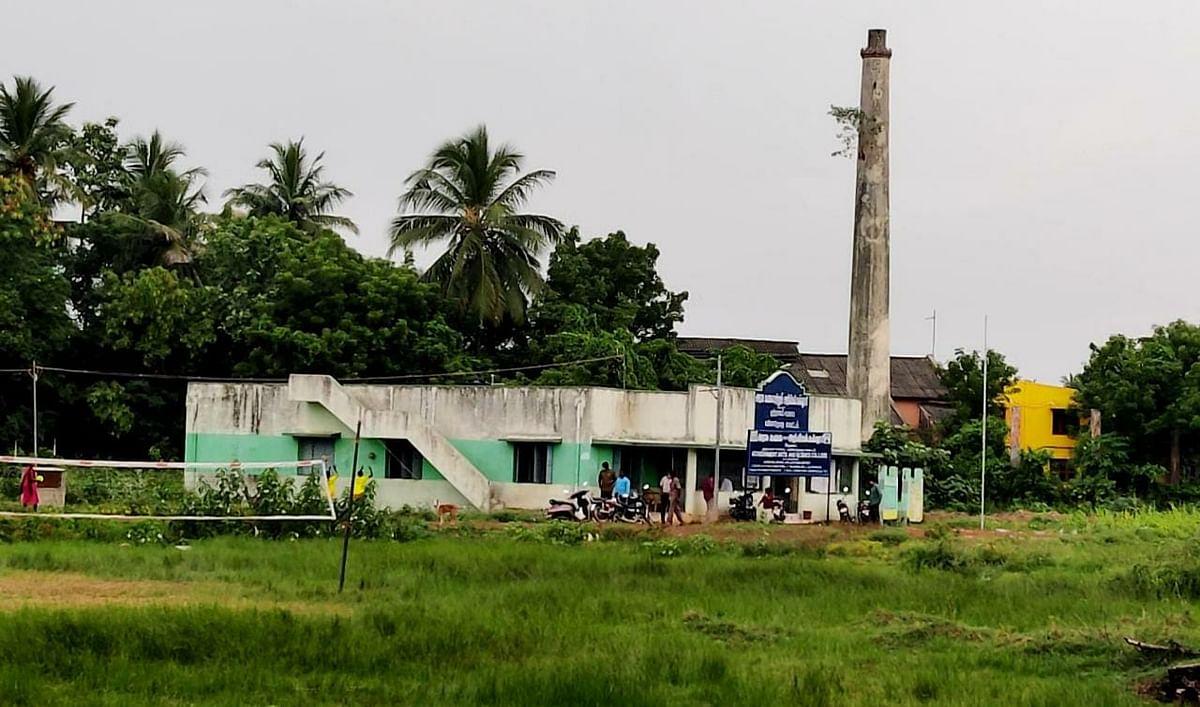 சமுதாயக் கூடத்தில் அரசு கலைக்கல்லூரி