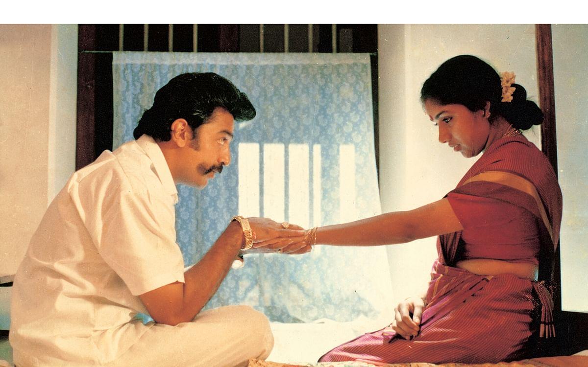 கமலுடன் ரேவதி...