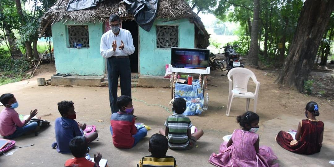 ஸ்மார்ட் டிவி ஒளிபரப்பில் கல்வி