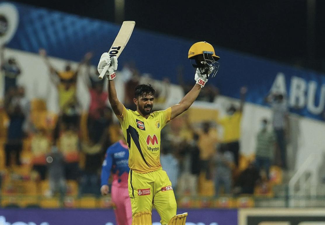Ruturaj Gaikward scored his maiden IPL 100 vs RR