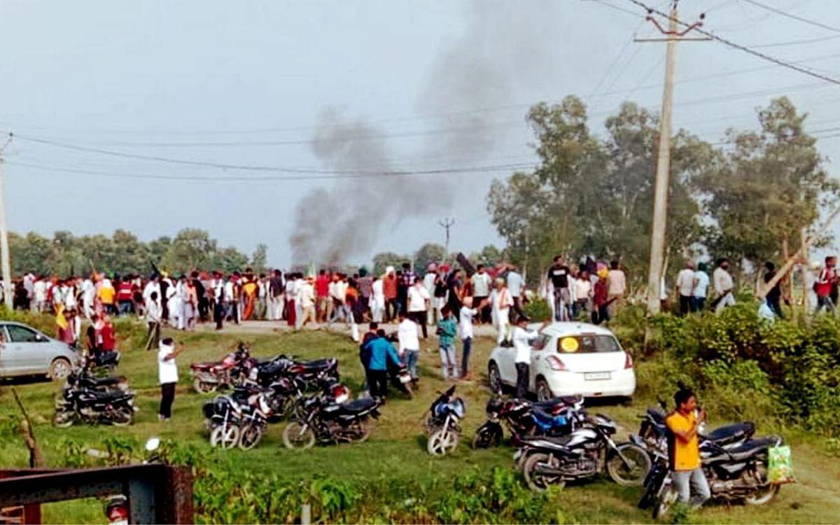 கறுப்புக்கொடி போராட்டம்... பறிபோன 9 உயிர்கள்... உ.பி லக்கிம்பூர் கலவரத்தில் என்ன நடந்தது?