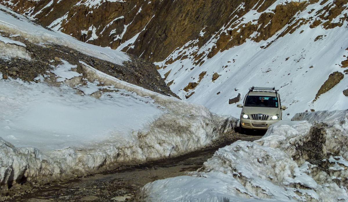 Motoring in Extreme Winter