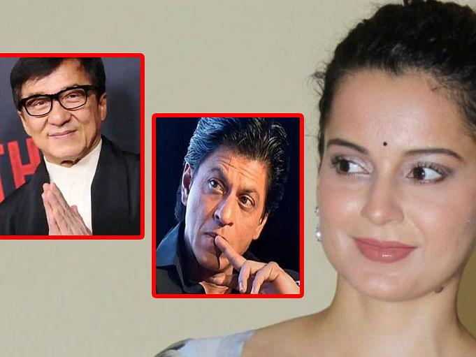 `மகனுக்காக ஜாக்கி சான் மன்னிப்புக் கேட்டார்!' - ஷாருக் கானை மறைமுகமாகச் சாடிய கங்கனா?!